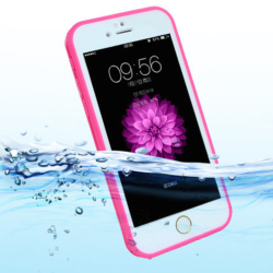Vandtæt iPhone 7-8 plus cover PINK 3