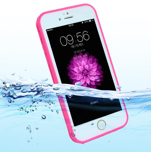Vandtæt iPhone 7-8 plus cover PINK 3
