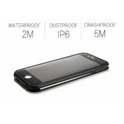Vandtæt iPhone 7-8 cover SORT