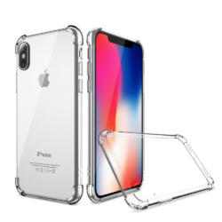 Gennemsigtigt iPhone X cover safety