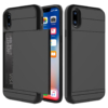 Kortholder safety cover iPhone X SORT 1
