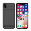 Kortholder safety cover iPhone X SORT 5