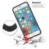 Kortholder safety cover iPhone X SORT 6