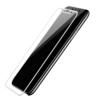 Skærmbeskyttelse iPhone X med hvid kant