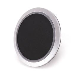 Qi trådløs opladerstation med sort læder 5