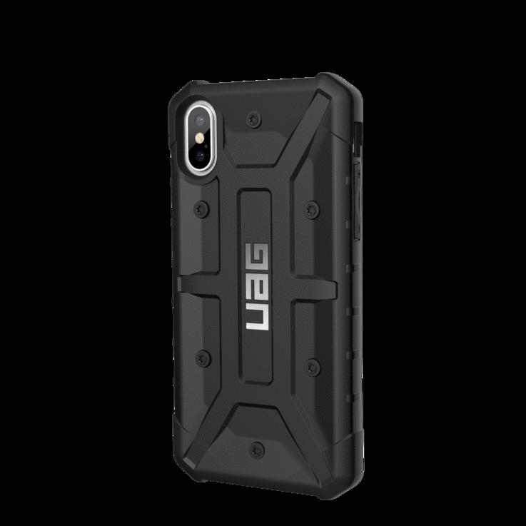 Fabriksnye iPhone X-XS UAG pathfinder cover sort, militær cover, håndværkere MB-65