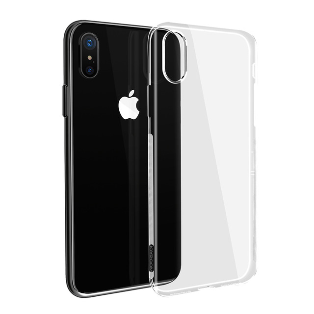 iPhone X crystal soft silikone cover 4