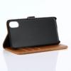 iPhone X kortholder læderpung brun 4