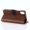 iPhone X kortholder læderpung brun 5