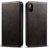iPhone X kortholder læderpung sort