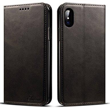 iPhone 7-8 kortholder læderpung sort