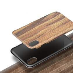 iPhone X soft slim wooden cover rosewood 4