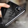 iPhone X transparent soft cover med sort kant 1