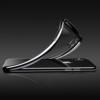 iPhone X transparent soft cover med sort kant 3