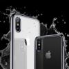 iPhone X transparent soft cover med sort kant 4