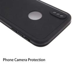 Vandtæt iPhone X cover SORT 2