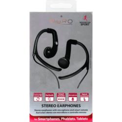 Sport høretelefon med earhook Puro Stereo 2