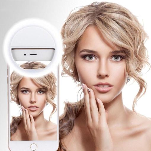 Selfie ring LED lys til kamera 1