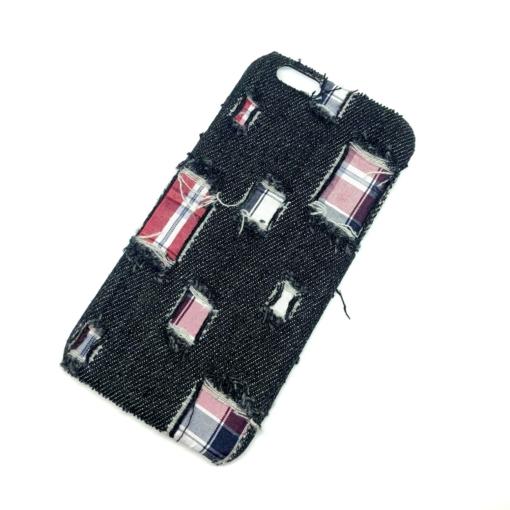 iPhone 7-8 denim stof cover model 2