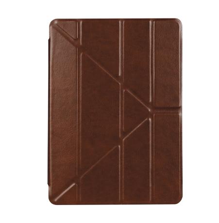 iPad 2017 – Air 1-2 smart slim cover case brun læder 1