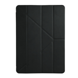 iPad 2017 - Air 1-2 smart slim cover case sort læder 2