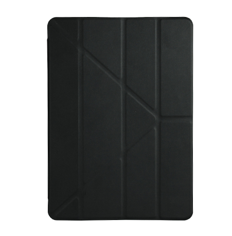 iPad 2017 – Air 1-2 smart slim cover case sort læder 2
