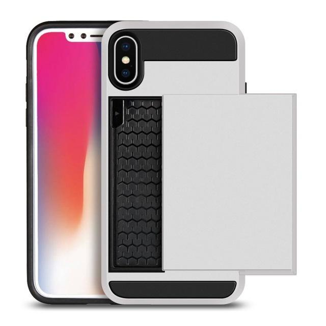 iPhone X Case Slide Card Holder 2