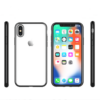 iPhone X-XS transparent soft cove dark silver 1