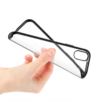 iPhone X-XS transparent soft cove dark silver 2