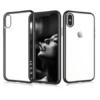 iPhone X-XS transparent soft cove dark silver
