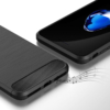 Carbon soft slim TPU cover iPhone 7-8 PLUS 3