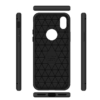 Carbon soft slim TPU silikone cover iPhone X 7
