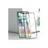 Skærmbeskyttelse Gorilla glas iPhone XS MAX hvid kant